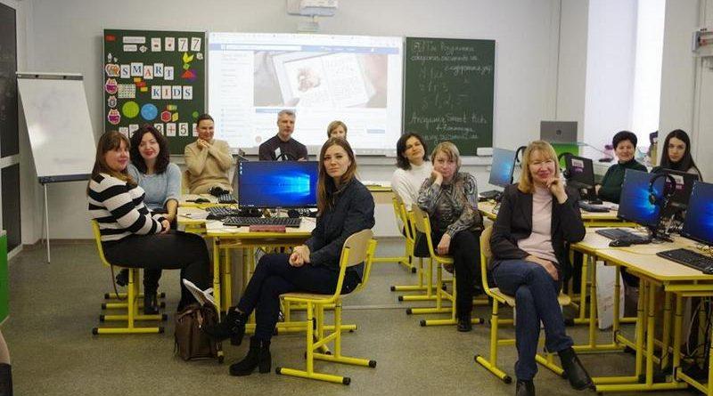 Відбувся перший етап навчання вчителів сучасним цифровим технологіям