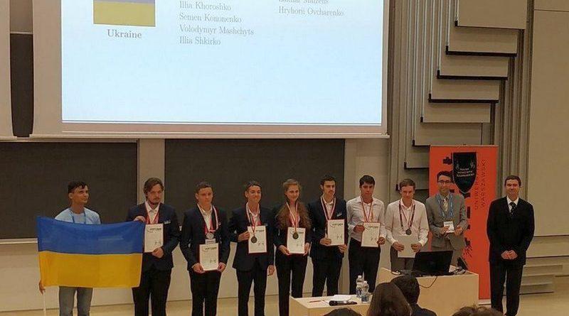 Юні фізики України впевнено завоювали срібні медалі на 32 Міжнародному турнірі в Варшаві