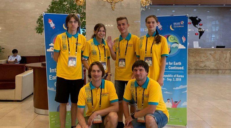 Результат української команди на Міжнародній учнівській олімпіаді з географії – бронзова медаль та особливі відзнаки журі