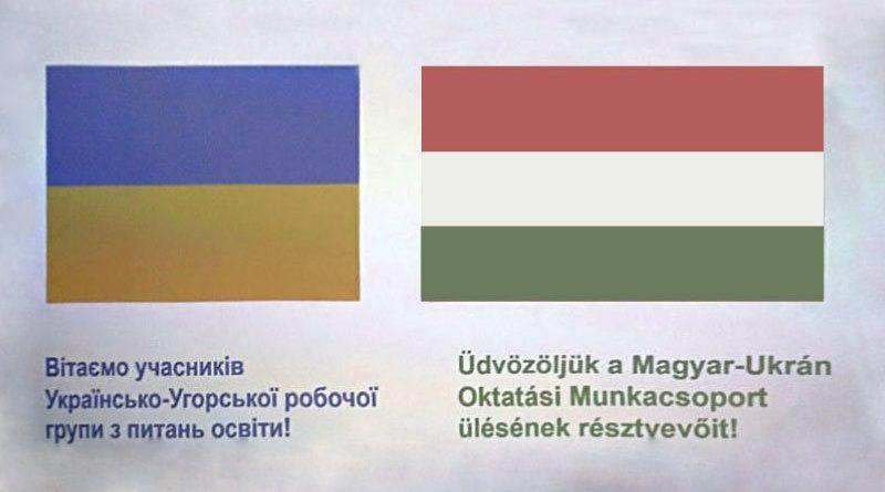Українсько-угорське засідання міжвідомчої робочої групи об'єднало  наміри двох держав щодо розвитку  та  поглиблення творчої співпраці  у сфері забезпечення освітніх прав угорської національної меншини в Україні